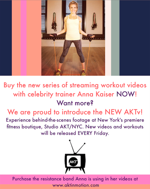 Introducing AKTV and NEW Streaming Workout Videos