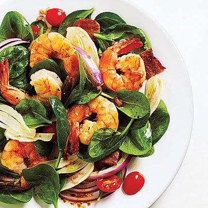fennel-spinach-salad-shrimp